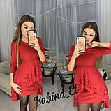Стильне ніжне плаття крепдайвинг S/M/L, фото 2
