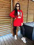 Теплое стильное женское худи, флис, 42-44, 46-48рр, цвет бежевый, фото 3