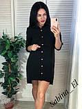 Красивое платье-рубашка на летние вечера 42-44, 46-48 рр, фото 4