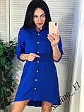 Красивое платье-рубашка на летние вечера 42-44, 46-48 рр, фото 5