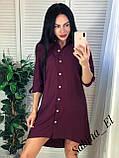 Красивое платье-рубашка на летние вечера 42-44, 46-48 рр, фото 6