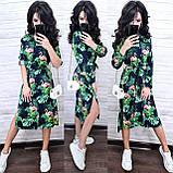 Легке гарне плаття на запах, 42-44 р,, фото 2