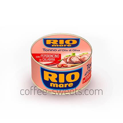 Тунец Rio Mare con Peperoncino пеперончино 80 гр, фото 2
