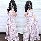Женственное стильное платье, ткань софт, 42-44, 46-48, 50-52 рр, цвет темно-синий, фото 2