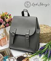 Женский рюкзак 013 серый, женские рюкзаки купить оптом недорого в Украине