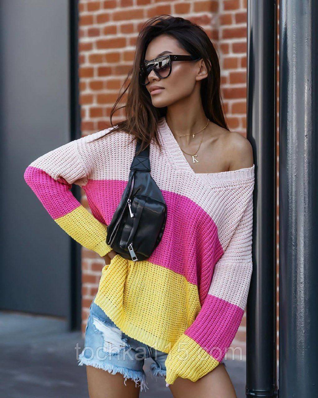Крутой легкий свитер, 42-48 р, для прохладных вечеров