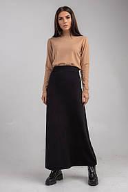 Трикотажная юбка макси   в 4 цветах в размере S/M и L/XL.