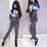 Женский спортивный костюм, костюм для прогулок, S/M/L (бордо), фото 3