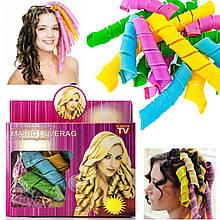 Волшебные бигуди для длинных волос Magic Leverag MB-4-1, 55 см