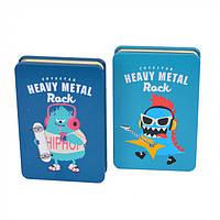 """Блокнот для записей в твердой обложке """"Heavy metal"""" блокнот для записей, блокнот"""