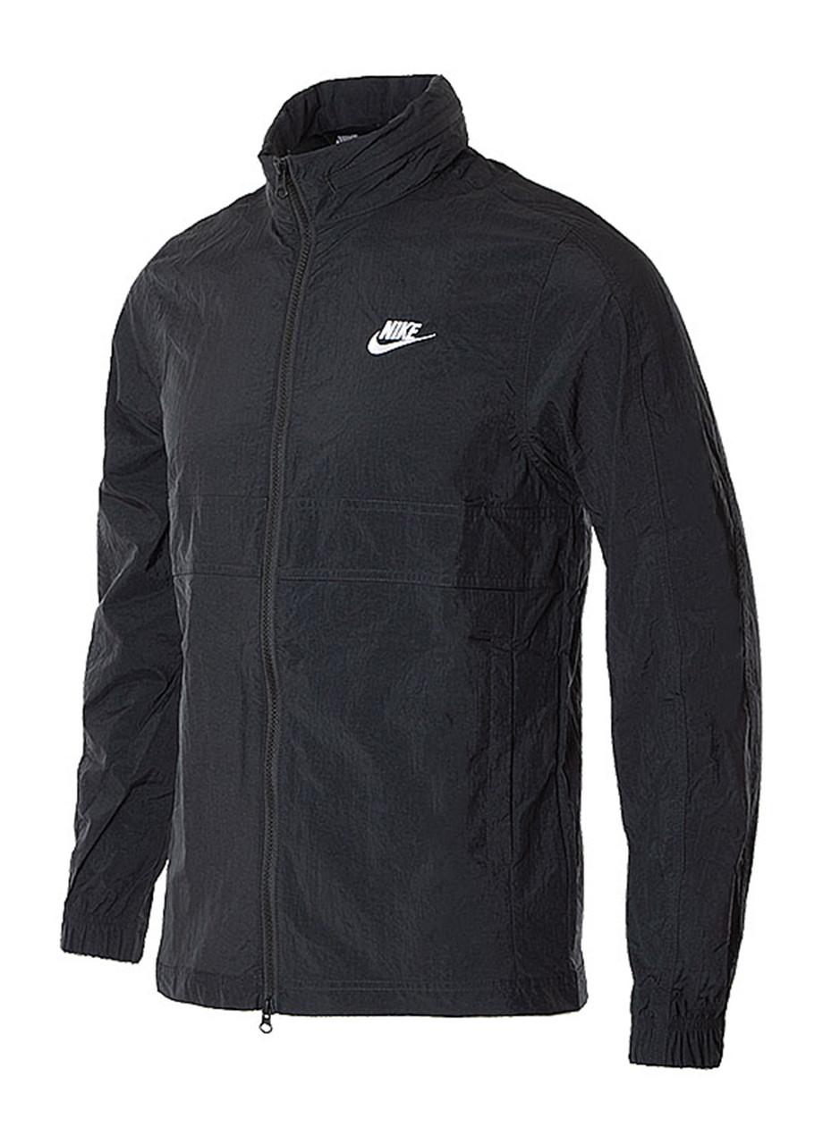 Ветровка мужская Nike с капюшоном черная M NSW CE TRK JKT WVN