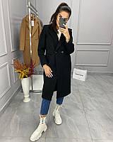 Женское пальто зима серое, чёрное 42 44 46