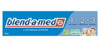 """Зубна паста """"Blend-a-med"""" 50мл  3 Ефект М'яка свіжість/-928/15"""