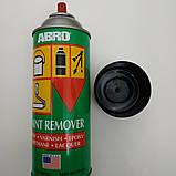 Смывка старой краски аэрозоль Abro PR 600 Paint Remover, 283 г, фото 3