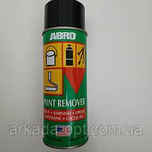 Смывка старой краски аэрозоль Abro PR 600 Paint Remover, 283 г