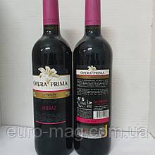 Opera Prima Syrah Mancha DO 0,75 Вино Красное Опера Прима Сира