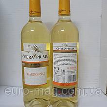 Opera Prima Chardonnay La Mancha DO 0,75 Вино Красное Опера Прима Шардоне