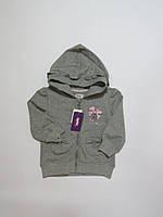 Кофта для девочек с капюшоном(начёс)Zeplin 86-110р
