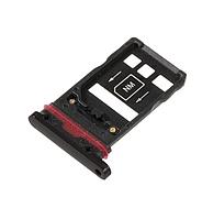 Лоток сим карты для Huawei Mate 20 Pro (LYA-L09/LYA-L29/LYA-L0C), черный
