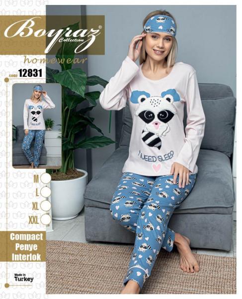 Пижама женская хлопок 12831 Boyraz