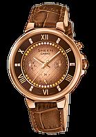 Женские часы CASIO Sheen SHE-3041PGL-5AUER оригинал