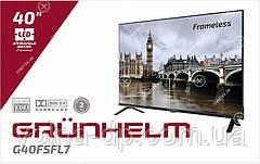 Телевізор GT9FHFL40 frameless SMART HD Premium Sound GRUNHELM