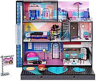 Дом для кукол ЛОЛ Оригинал LOL Surprise OMG House New Real Wood Doll House (571414)