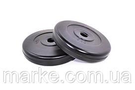 Диски для гантелей ( штанги ) композитные Neo-Sport 2х5кг