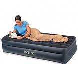 Односпальная надувная кровать Intex 66721, фото 3
