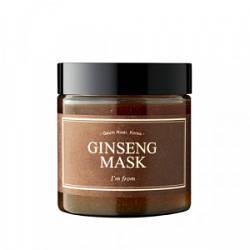 Розігріваюча маска з екстрактом женьшеню i'm From Ginseng Mask 120g