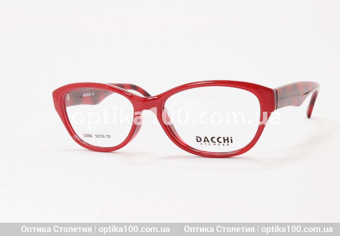 Темно-красная женская оправа для очков