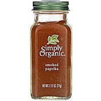 Органическая копченая паприка Simply Organic, 77 г