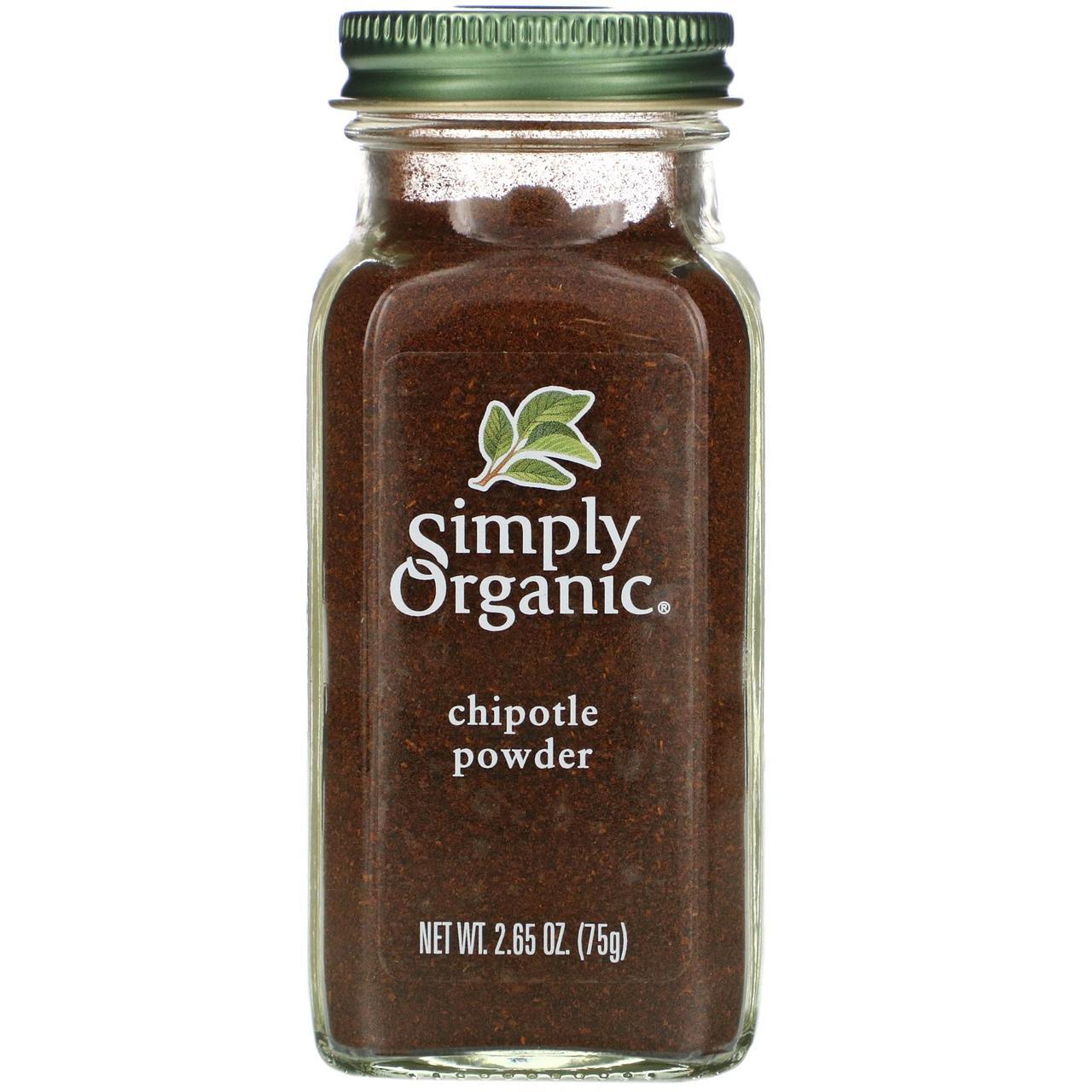 Перец халапеньо Simply Organic, органический порошок халапеньо, 75 г