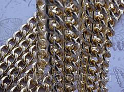 Цепь декоративная Италия gold 15мм х 10мм К-1