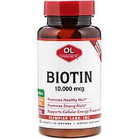 Olympian Labs Inc., Биотин, 10000 мкг, 60 таблеток