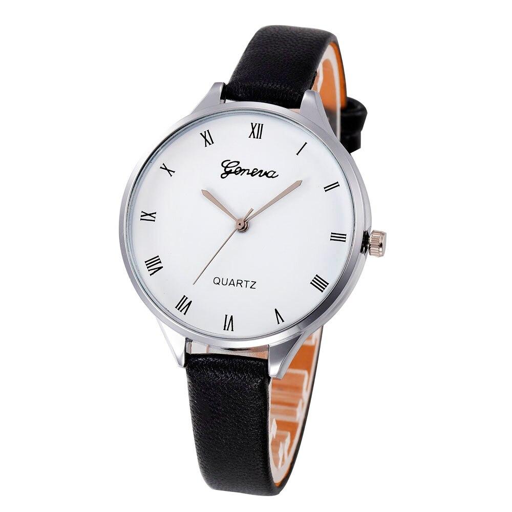 Недорогие женские часы с римским циферблатом
