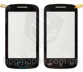 Сенсорный экран для Motorola EX128 Dual Sim, черный, оригинал