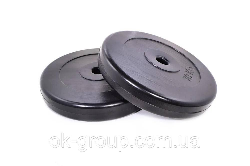 Диски для гантелей ( штанги ) композитные Neo-Sport 2х10кг