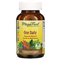 """Мультивитамины """"Раз в день"""" MegaFood, 90 таблеток, фото 1"""