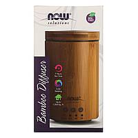 Ультразвуковий розпилювач масел з натурального бамбука Now Foods, 1 розпилювач