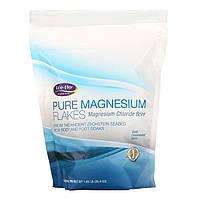 Хлопья магния Life-flo для принятия ванны, рассол хлорида магния, 750 г