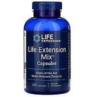 Комплекс витаминов, минералов и растительных экстарктов Life Extension, микс для продления жизни, 360 капсул, фото 1