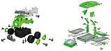 Конструктор DIY Spatial Creativity  Набор муз.Мусоровоз и Само-ал LM9048-1A, фото 4