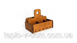 Барный органайзер деревянный 12*17*15