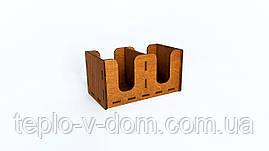 Барный органайзер деревянный 12*21*11 см