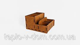 Барный органайзер деревянный 19*17*11 см