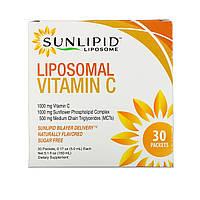 Липосомальный витамин С SunLipid, 30 пакетиков (5 мл каждый), фото 1