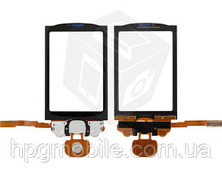 Touchscreen (сенсорный экран) для Motorola Cliq XT MB501, оригинал (черный)
