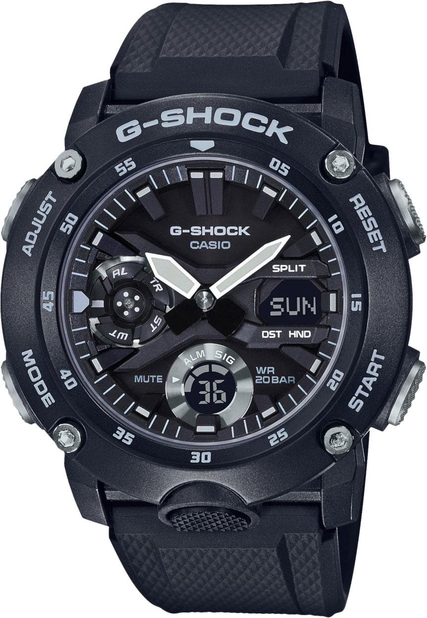 Часы Casio G-Shock GA-2000S-1A Carbon Core Guard