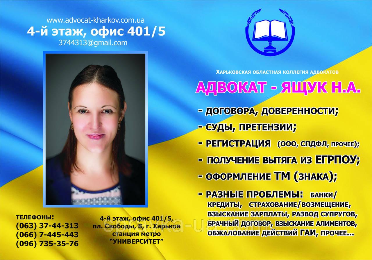Адвокат по семейным спорам, Украина